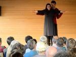 Tobias Fend und Meda Gheorghiu-Banciu in 'Titanic oder der Eisberg hat immer Recht', eine Produktion von Café Fuerte